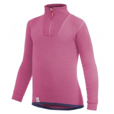 Woolpower Kids Zip Turtle Neck 200