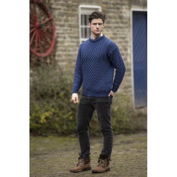 West End Knitwear - trui met ronde hals - unisex