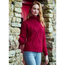 West End Knitwear - Ierse damestrui met col