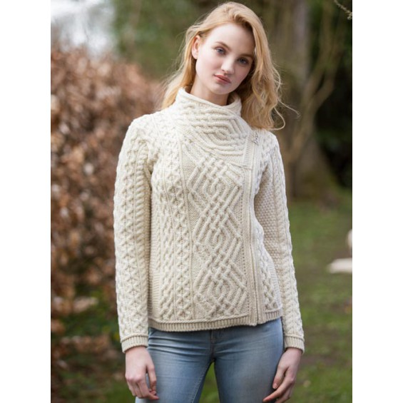 West End Knitwear - kort vest met rits