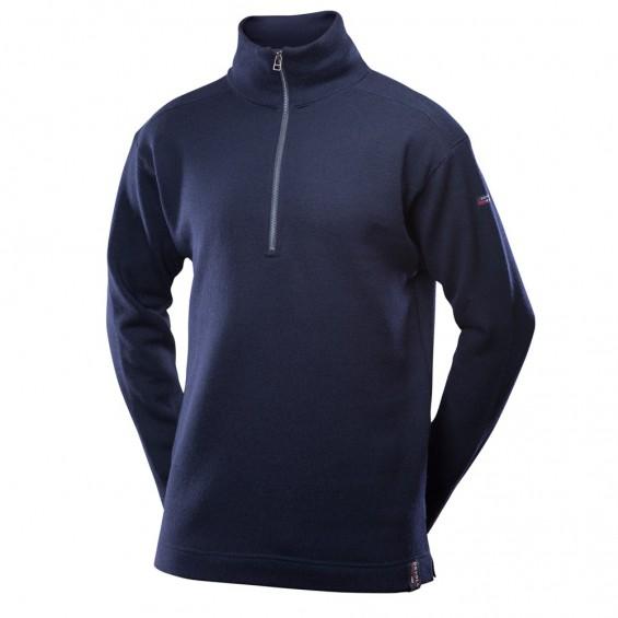 Devold Blaatrøie sweater met rits