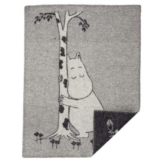 Klippan Moomin wiegdeken eco-wol tree hug