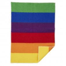 Klippan Rainbow wiegdeken eco-wol