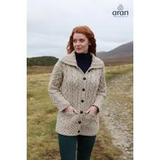 Vest Aran Woollen Mills met knopen