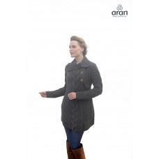 Aran Woollen Mills - lang damesvest