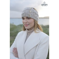 Aran Woollen Mills - hoofdband van merinowol