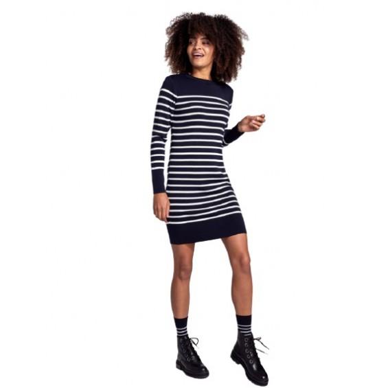 Armor-Lux - Benodet   wollen jurk met bretonse strepen