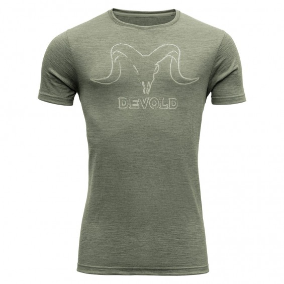 Devold Skull Man tee - heren T-shirt