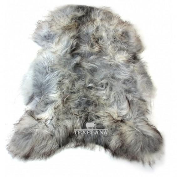 IJslandse schapenvacht grijs/langharig