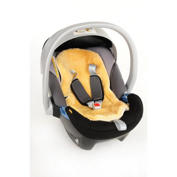 Lamsvacht voor babyzitje of buggy