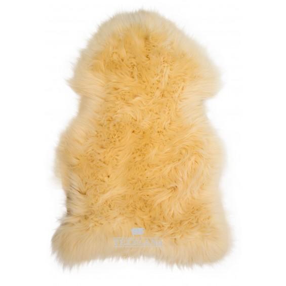 Texelana schapenvacht geel
