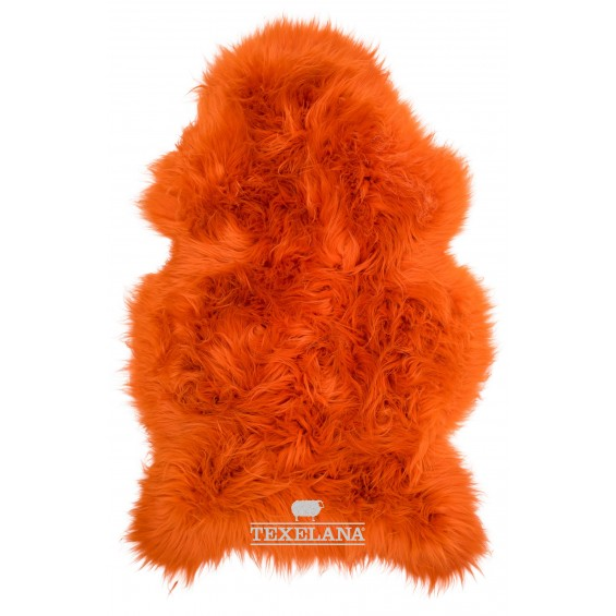 Texelana schapenvacht oranje
