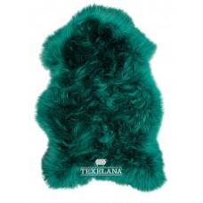 Texelana geverfde schapenvacht groen