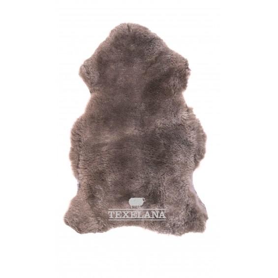 Texelana geverfde schapenvacht taupe geschoren