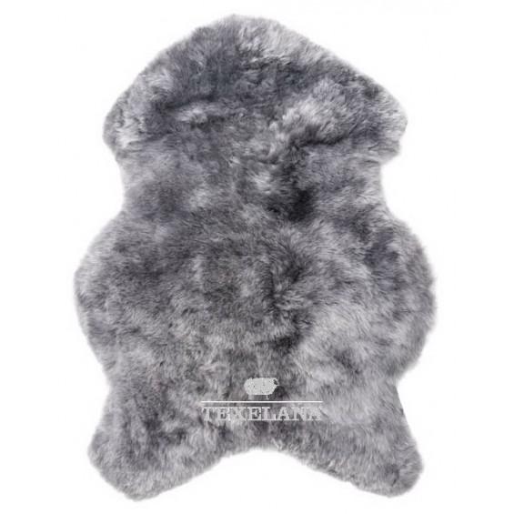 Geverfde IJslander schapenvacht grijs geschoren