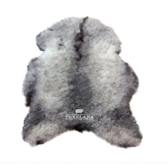 Texelana - IJslandse schapenvacht naturel   grijs geschoren