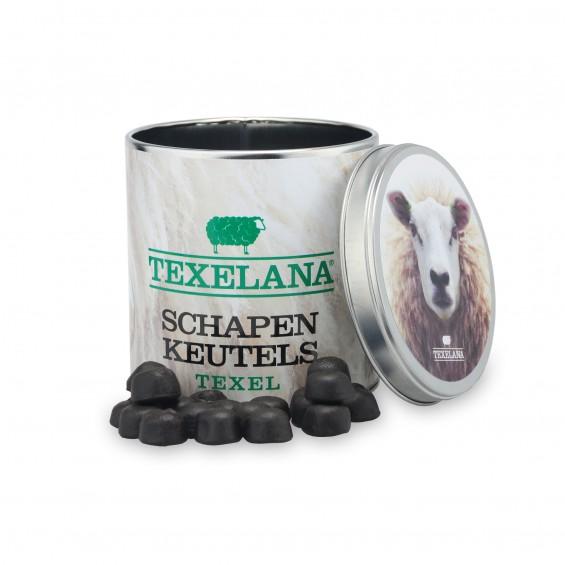 Blik schapenkeutels
