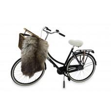 Texelana | zadeldekje voor fietszadel van schapenvacht