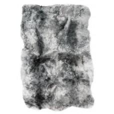 Vachtkleed van IJslandse schapenvacht - geschoren grijs