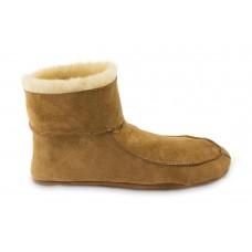 Pala - op Texel vervaardigde pantoffel van schapenvacht