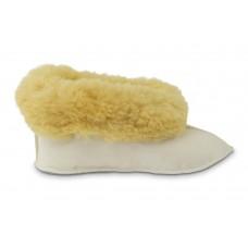 Sonja Texelse pantoffel van schapenvacht