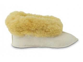 Sjieke Texelse pantoffel van schapenvacht  Sonja