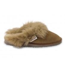 Texelse pantoffel/slipper van schapenvacht Reina