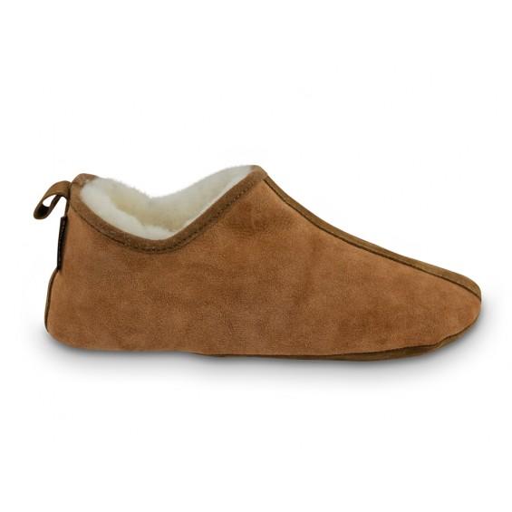 Pantoffel van schapenvacht | Model Viva