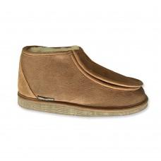 Texelana - Sarah | hoge pantoffel met klittenband