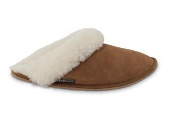 Slipper / pantoffel met schapenwol Tosca