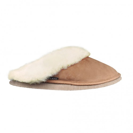 Pantoffel/slipper van schapenvacht | Model Tara