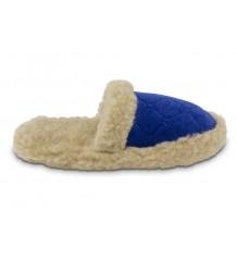Luxe slaapkamerpantoffel/slipper Mila  schapenwol