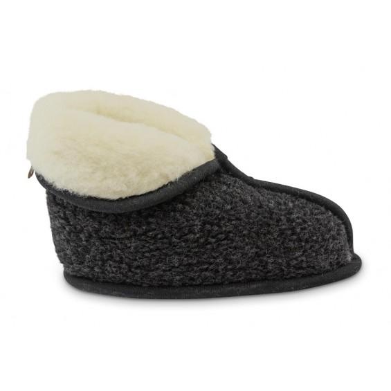 Lisa Slaapkamer pantoffel van wol