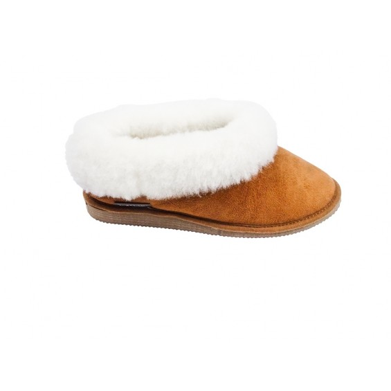 Pippa pantoffel van schapenvacht