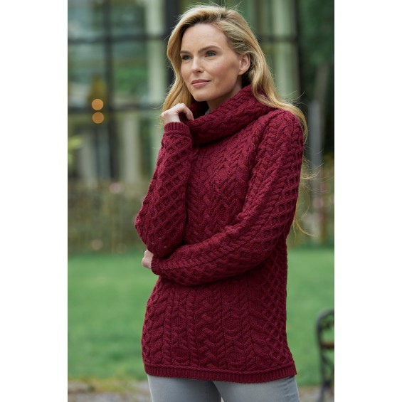 West End Knitwear - coltrui met kabels