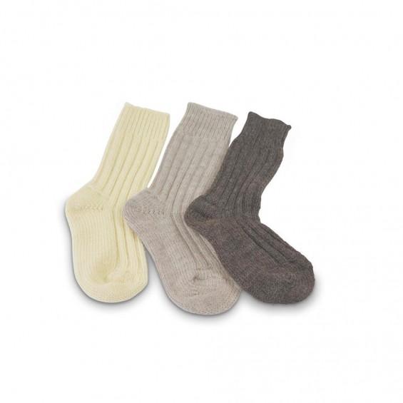 Warme sokken van duurzaam geproduceerde wol