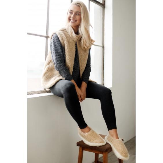 Bodywarmer van zachte schapenwol | Yoko Wool Walker