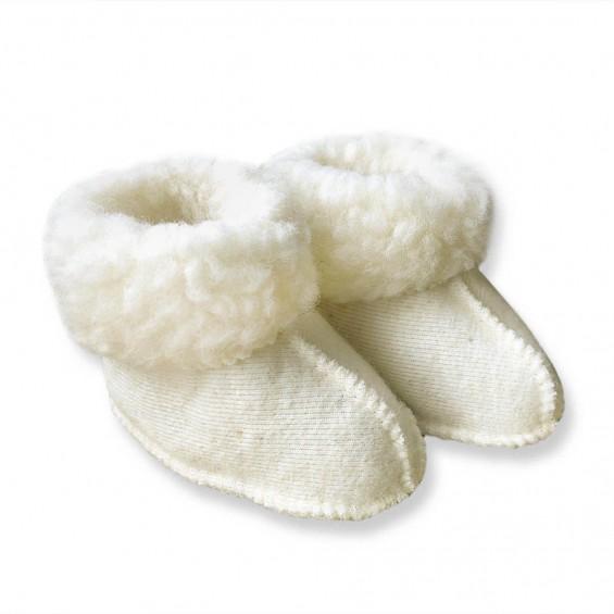 Yoko Wool - Miki | wollen babypantoffel
