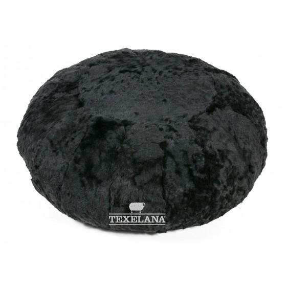 Vachtpoef vloer IJslander zwart
