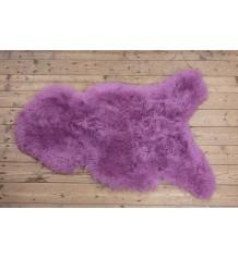 Geverfde IJslander schapenvacht geschoren/fuchsia