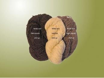 Ierse breiwol - kleur Dark Jacob