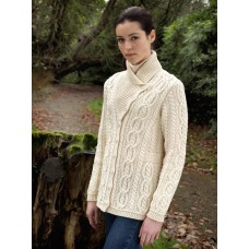 West End Knitwear - damesvest met knopen