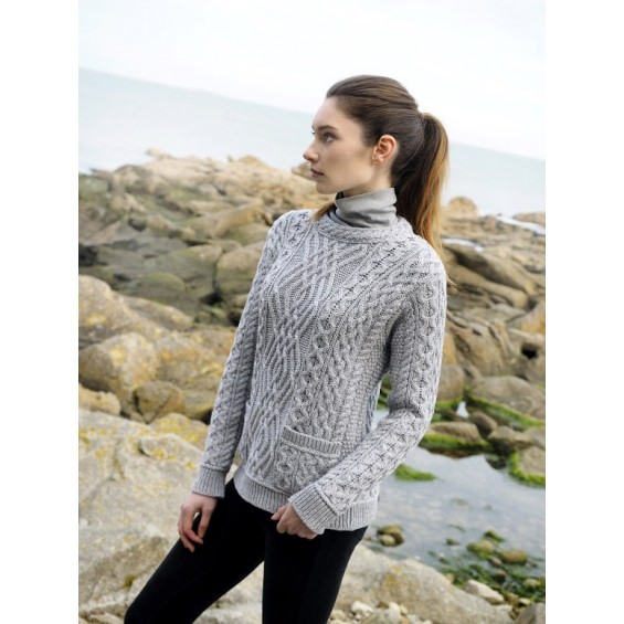 West End Knitwear - damestrui met ronde hals