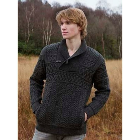 West End Knitwear - herentrui met V-hals