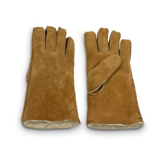 Luxe handschoenen van schapenvacht